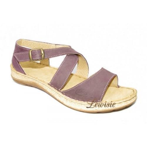 Orto plus 4106-38 Dámské sandály fialové vel.37 a 38  d3f13893ec