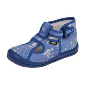 bf808dbbc3f FARE 4114446 šedorůžová Dětská obuv domácí vel.23-30