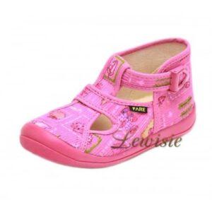 2d2cea8b5d5d FARE 4114444 růžová Dětská obuv domácí vel.26