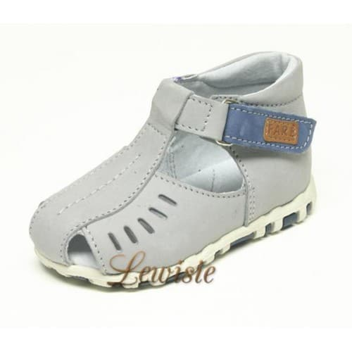 e177f3ae0b9 Fare 567261 šedá Dětský sandál vel.18 Výprodej