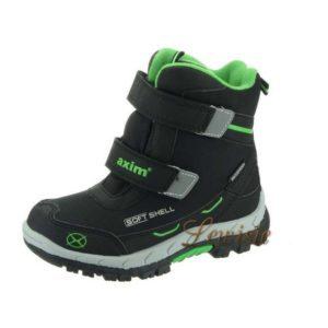 Dětská zimní obuv Softshell zelená AS 3Z11586N vel.33 a 34 0c8dd547a5
