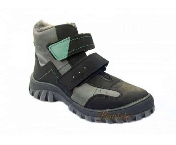 ESSI 1862 černá Dětská zimní obuv vel.36-39  a864805840