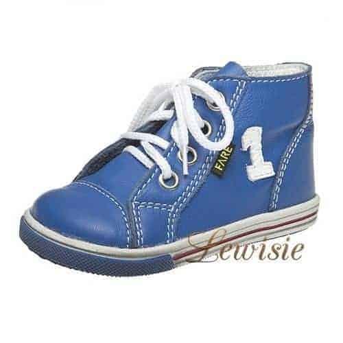 Fare 2151104 modrá Dětská vycházková obuv vel.19-26  9551f930e5