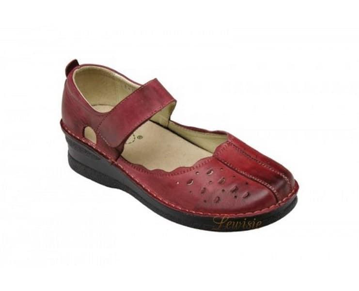 821e6ec2b42 Santé JH 4855 Red Dámská vycházková obuv vel.36-41