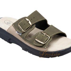 Santé N 517 36 98 28 CP khaki Pánský zdravotní pantofel vel.42-47 5ae2a1e61a1