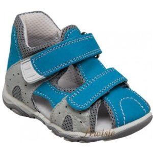 Santé N 810 301 80 15 modrá Dětské zdravotní sandály vel.19 a 20 07be87c646
