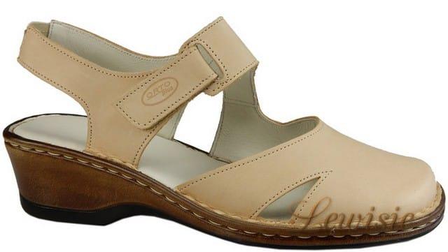 Orto plus 1505-02 béžová Dámská obuv na klínku vel.40 a 41  519b7634cf