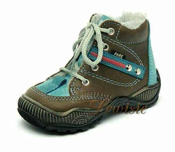 Fare 2144121 hnědá Dětská zimní obuv vel.19  10794a6c57