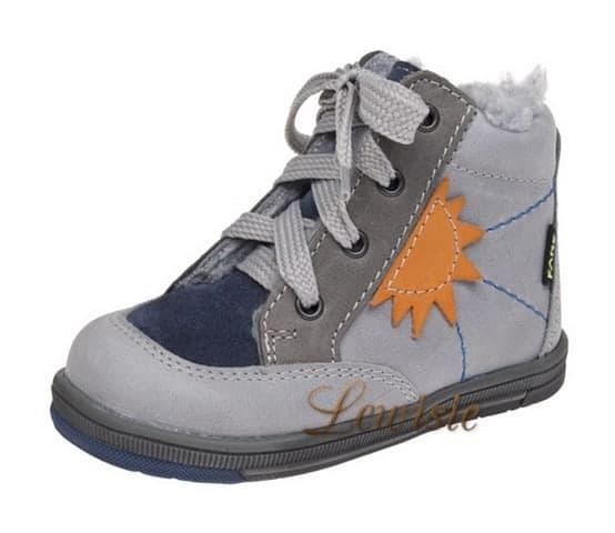 Fare 2144163 šedá Dětská zimní obuv vel.20  032a705a8c