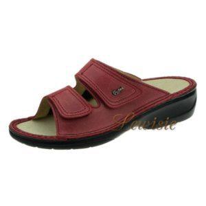 ef4141694961 Peon MJ 3701-4 červená Dámský vycházkový pantofel vel.35