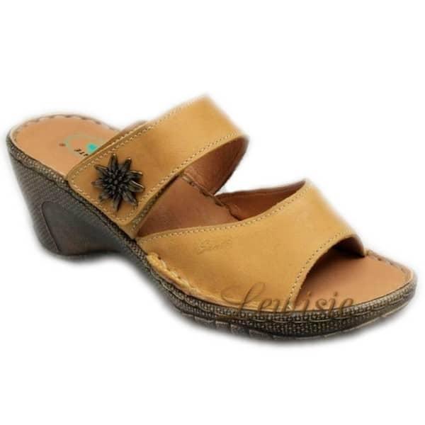 Santé N 309 2 42 camel Dámská obuv na klínku vel.36 a 42  dd3211734d