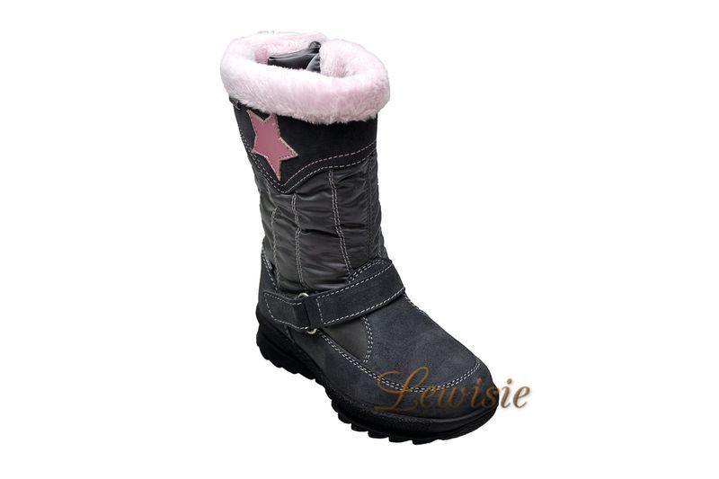 00cd6629edd Santé OR IC34211 GRIGIO Dívčí zimní obuv vel.35