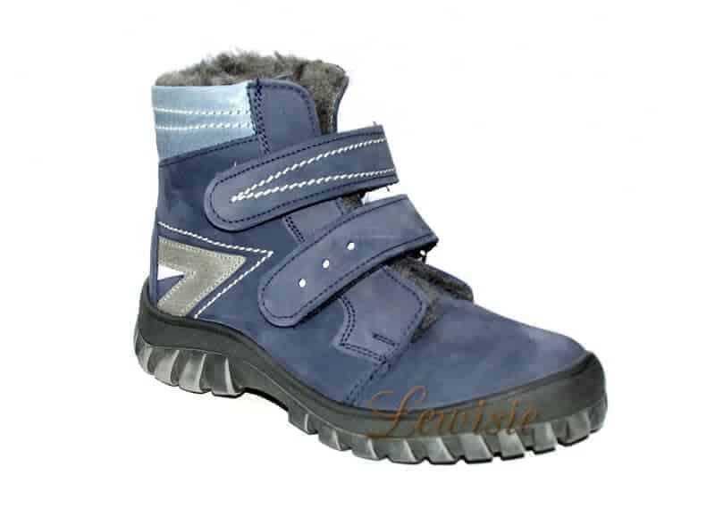 ESSI 1860 modrá Dětská zimní obuv vel.31-35  d5f459a8f9