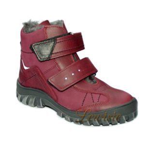ESSI 1862 bordó Dětská zimní obuv vel.37 a 38 1ba8b5c05c