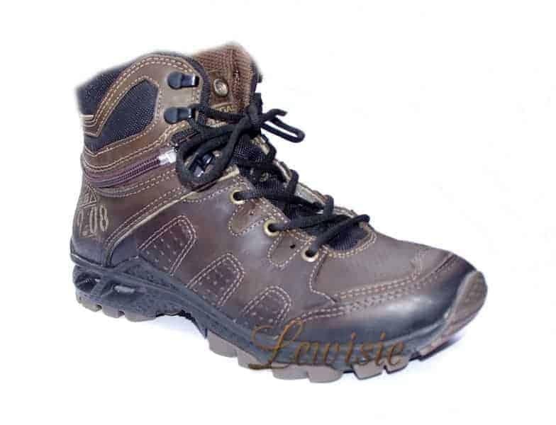 Santé PE 50303-04 Chocolate Pánská treková obuv vel.43  fe43417937