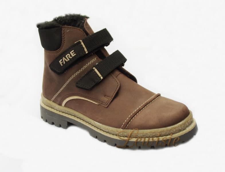 Fare 2645123 hnědá Unisex kotníková zimní obuv vel.34  1b43966d6e
