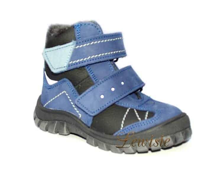 Dětská zimní obuv ESSI 1862 modrá vel.23-28  89c80a6be8