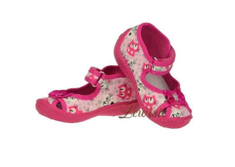Peon Kids MI 009 ZD Dívčí papuče vel. 20 – 25  2aaccb65d7