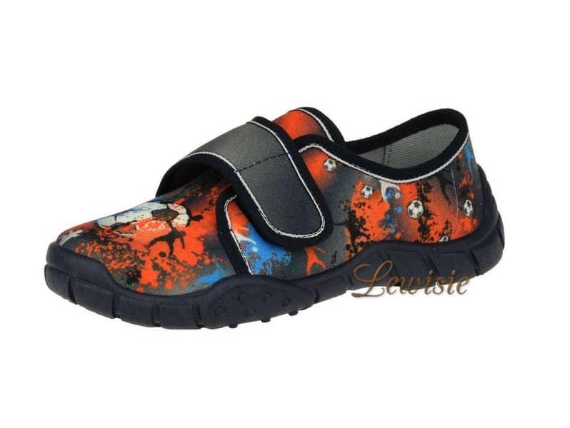 Peon Kids MI 019 ED Chlapecké papuče – cvičky vel. 26 – 33  7713e2cb23