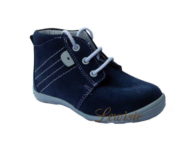 ESSI S 1909 modrá Dětská vycházková obuv vel. 20 a 21  20a5ef1a19