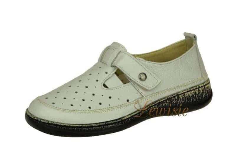 a105aac0ee Peon KB 789-5 bílá Dámská vycházková obuv vel. 38 a 39