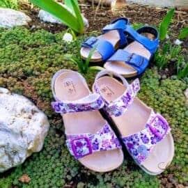 Nový model dětských sandálí Santé